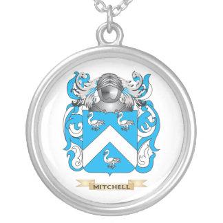Escudo de armas Mitchell-Inglés (escudo de la fami Colgante Redondo