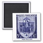 Escudo de armas, Montpellier Francia Imanes Para Frigoríficos