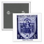 Escudo de armas, Montpellier Francia Pin