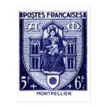 Escudo de armas, Montpellier Francia Postal