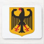 Escudo de armas Mousepad de Alemania Alfombrillas De Raton
