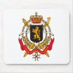 Escudo de armas Mousepad de Bélgica Alfombrillas De Ratón