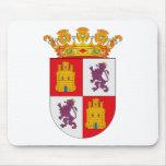 Escudo de armas Mousepad de Castilla Y León