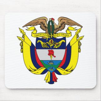 Escudo de armas Mousepad de Colombia Tapete De Ratón