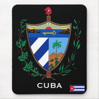 Escudo de armas Mousepad de Cuba Alfombrillas De Ratón