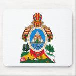 Escudo de armas Mousepad de Honduras Tapetes De Ratón