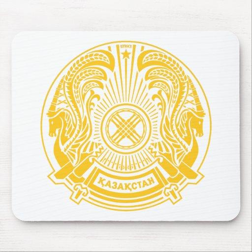 Escudo de armas Mousepad de Kazajistán Tapete De Raton