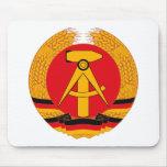 Escudo de armas Mousepad de la Alemania Oriental Alfombrilla De Raton