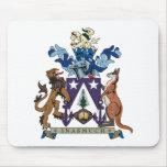 Escudo de armas Mousepad de la isla de Norfolk Alfombrillas De Raton
