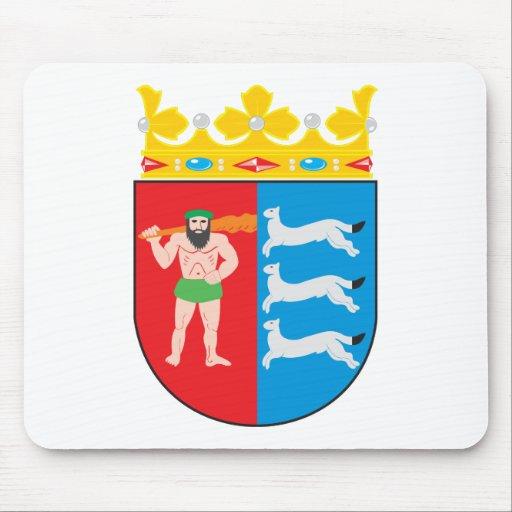 Escudo de armas Mousepad de Laponia