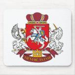 Escudo de armas Mousepad de Lituania Tapete De Raton