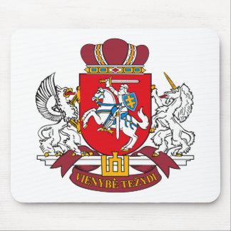 Escudo de armas Mousepad de Lituania