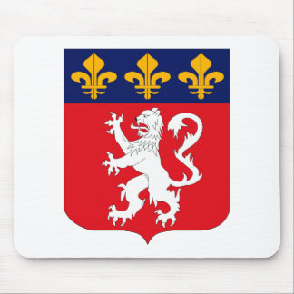 Escudo de armas Mousepad de Lyonnais