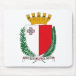 Escudo de armas Mousepad de Malta Alfombrilla De Raton