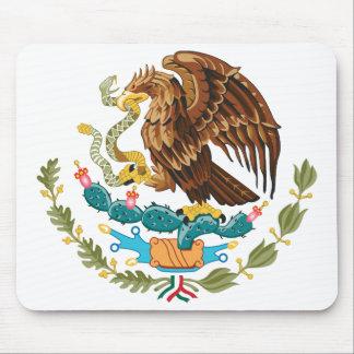 Escudo de armas Mousepad de México Alfombrillas De Raton