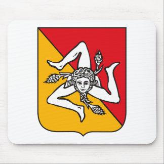 Escudo de armas Mousepad de Sicilia