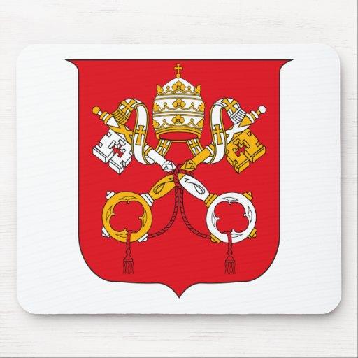 Escudo de armas Mousepad de Vatican Alfombrilla De Raton