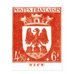 Escudo de armas, Niza Francia Postales