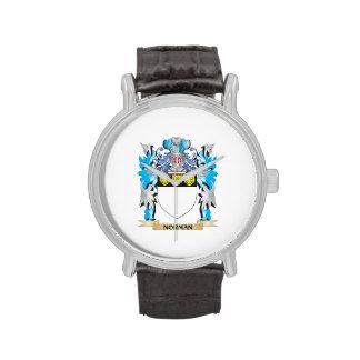 Escudo de armas normando - escudo de la familia reloj