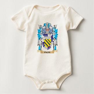 Escudo de armas pagano - escudo de la familia traje de bebé