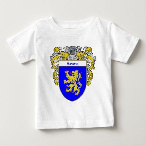 Escudo de armas País de Gales de Evans (cubierto) T-shirt