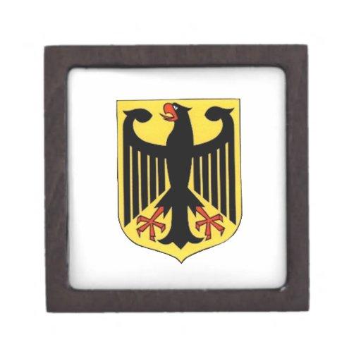Escudo de armas para Alemania Cajas De Regalo De Calidad