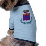 Escudo de armas para Ortucchio, Italia Ropa Perro