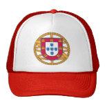 Escudo de armas portugués gorro de camionero