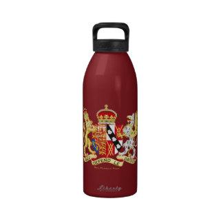 Escudo de armas, Princesa de Gales de Diana Botellas De Beber