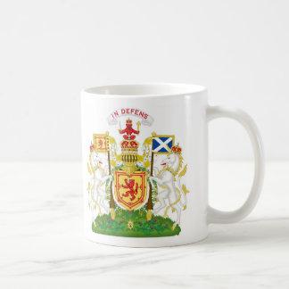 Escudo de armas real del Reino de Escocia Taza