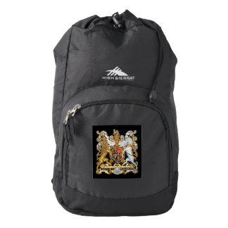Escudo de armas (Reino Unido) Mochila
