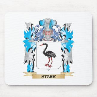 Escudo de armas rígido - escudo de la familia tapete de ratón
