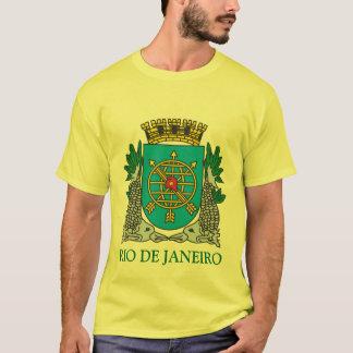Escudo de armas Río de Janeiro el Brasil Playera