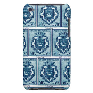 Escudo de armas Ruán, Francia del vintage iPod Case-Mate Carcasa