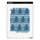 Escudo de armas Ruán, Francia del vintage Calcomanía Para iPad 2