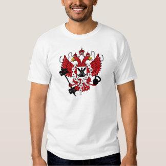 Escudo de armas ruso de WOD Playera