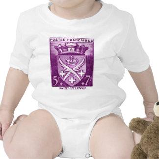 Escudo de armas, Saint-E'tienne Francia Trajes De Bebé