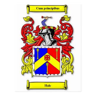 Escudo de armas sano postales
