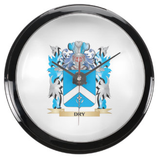 Escudo de armas seco - escudo de la familia relojes aquavista