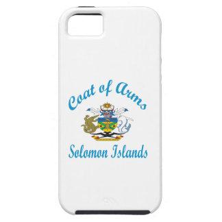 Escudo de armas Solomon Island iPhone 5 Case-Mate Funda