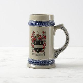Escudo de armas Stein de Bates/escudo de la famili Taza De Café