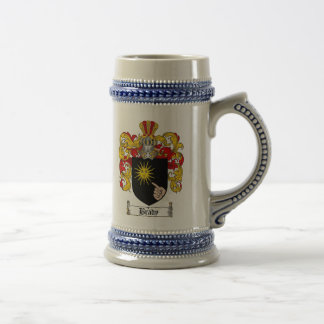 Escudo de armas Stein de Brady/escudo de la Jarra De Cerveza