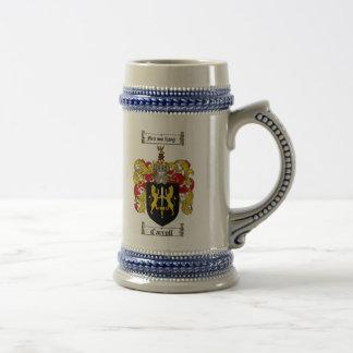 Escudo de armas Stein de Carroll/escudo de la Jarra De Cerveza