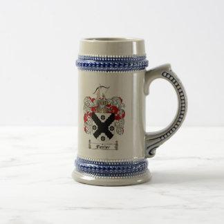 Escudo de armas Stein de Fletcher/escudo Stein de  Tazas De Café