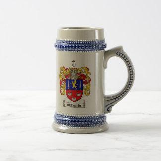 Escudo de armas Stein de McLaughlin Jarra De Cerveza