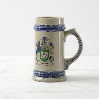 Escudo de armas Stein - escudo de Barton de la Jarra De Cerveza