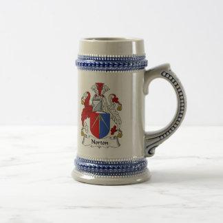 Escudo de armas Stein - escudo de Norton de la Jarra De Cerveza