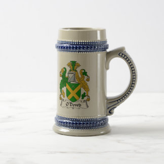 Escudo de armas Stein - escudo de O Dowd de la Jarra De Cerveza