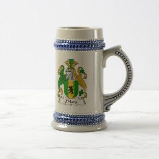 Escudo de armas Stein - escudo de O Hara de la Jarra De Cerveza