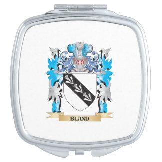 Escudo de armas suave espejo para el bolso